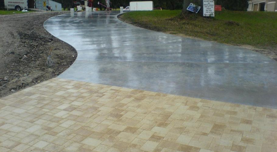 Sealing Concrete with Super Wet