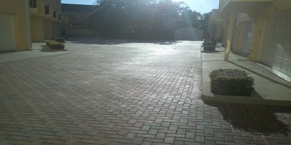 commercial paver sealing tampa
